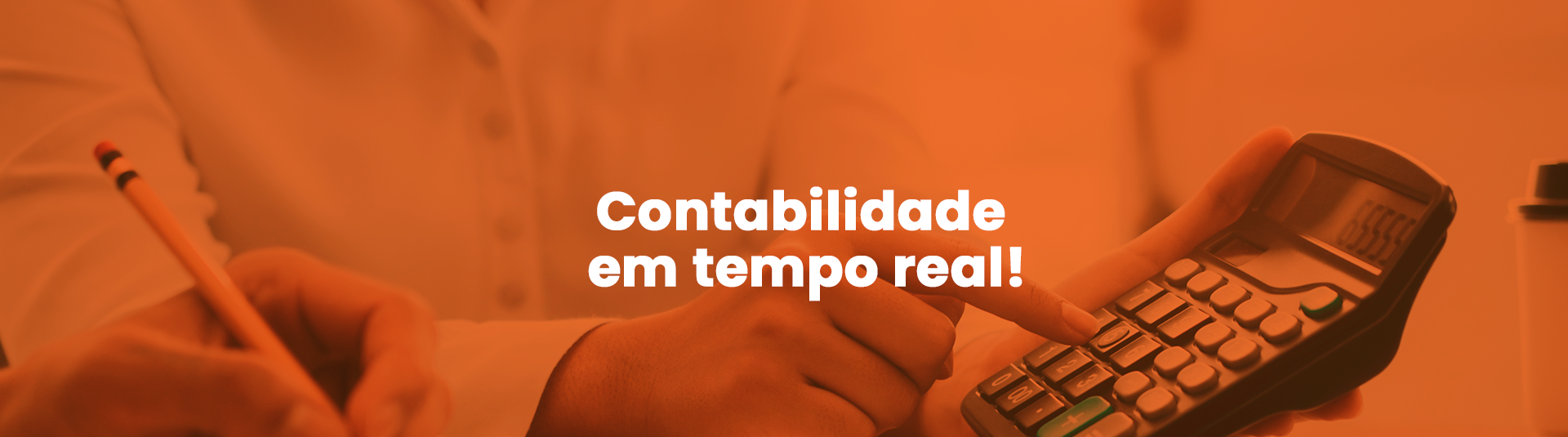 Banner - Tempo real