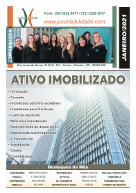 Janeiro/2021 - JC Escritório de contabilidade  em Pelotas é uma empresa especializada na prestação de serviços contábeis nas áreas fiscal, pessoal, contábil e tributária a mais de 25 anos