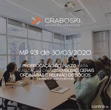 MEDIDA PROVISÓRIA Nº 931, DE 30 DE MARÇO DE 2020
