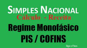 Simples Nacional e o cálculo sobre a Receita do Sistema Monofásico de PIS e COFINS